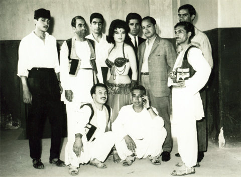 Zeina with Kabul Nandary band, Afghanistan
